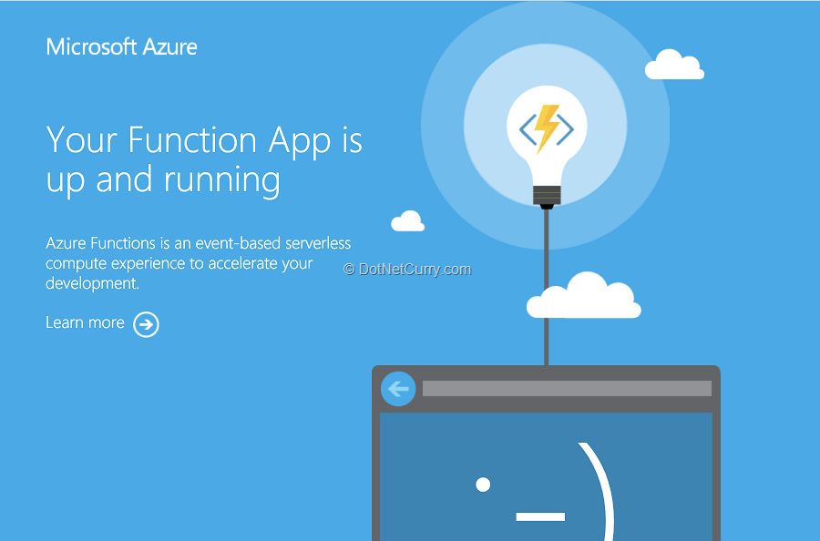 Serverless Apps with Azure Functions | DotNetCurry