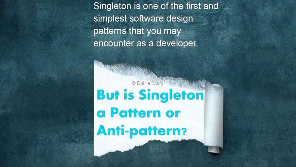 c# singleton pattern