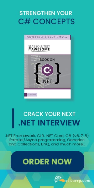 C# Book for Building Concepts and Interviews