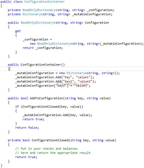 configuration-container