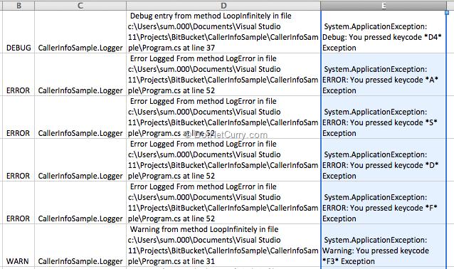log-messages