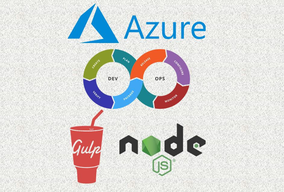 Using Azure DevOps for NodeJS application optimization using Gulp