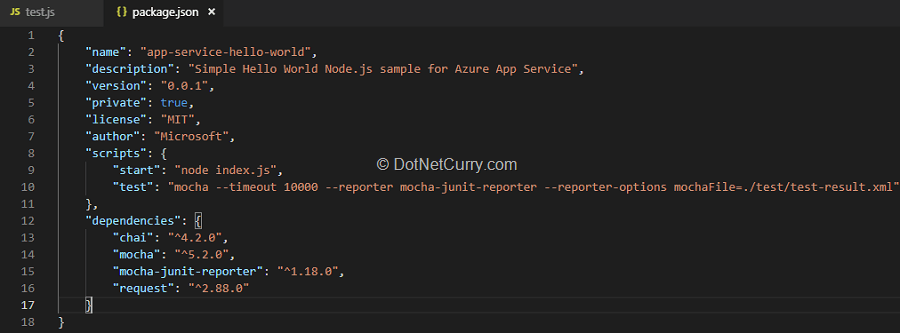 Using Azure DevOps for Build and Deployment of NodeJS application