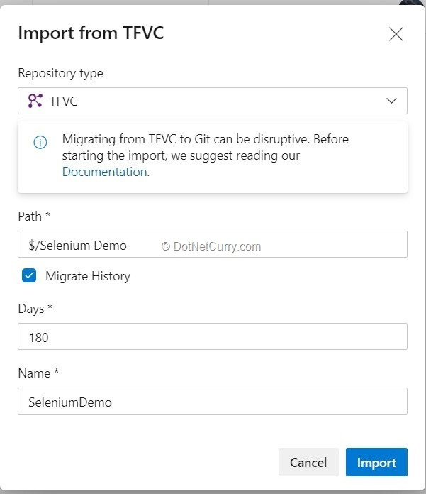 import-from-tfvc