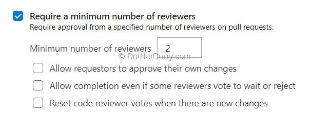 minimum-number-reviewers