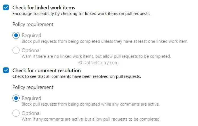 work-item-and-comment-policies