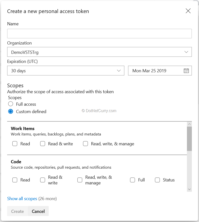Use REST APIs to access Azure DevOps (formerly VSTS
