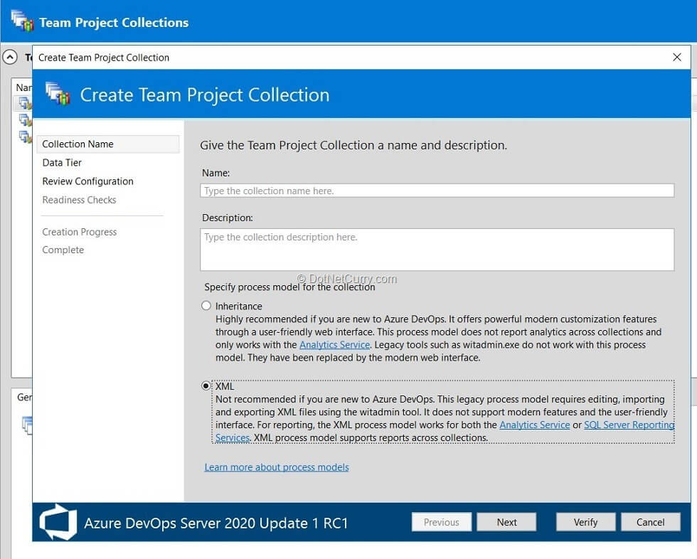 xml-based-team-project-collection