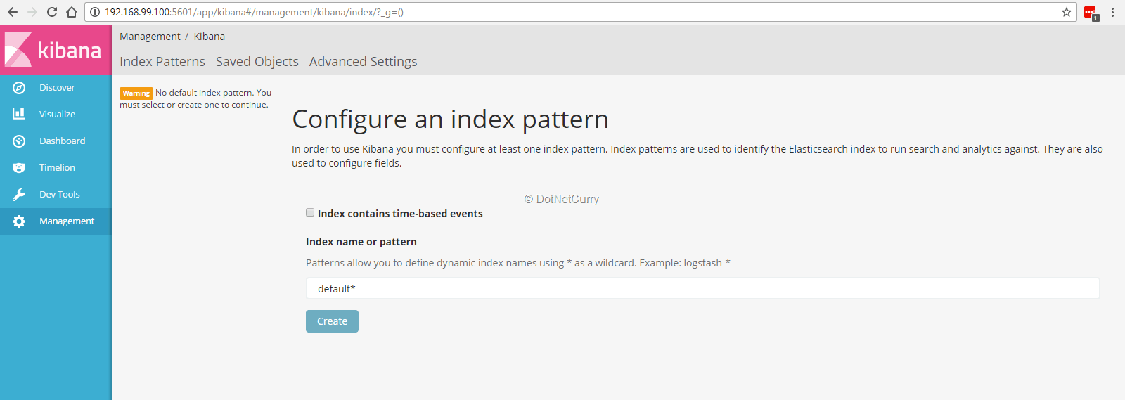 index-pattern-kibana