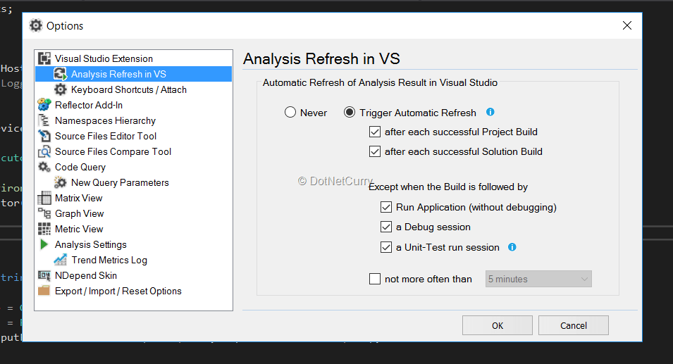 analysis-refresh-settings