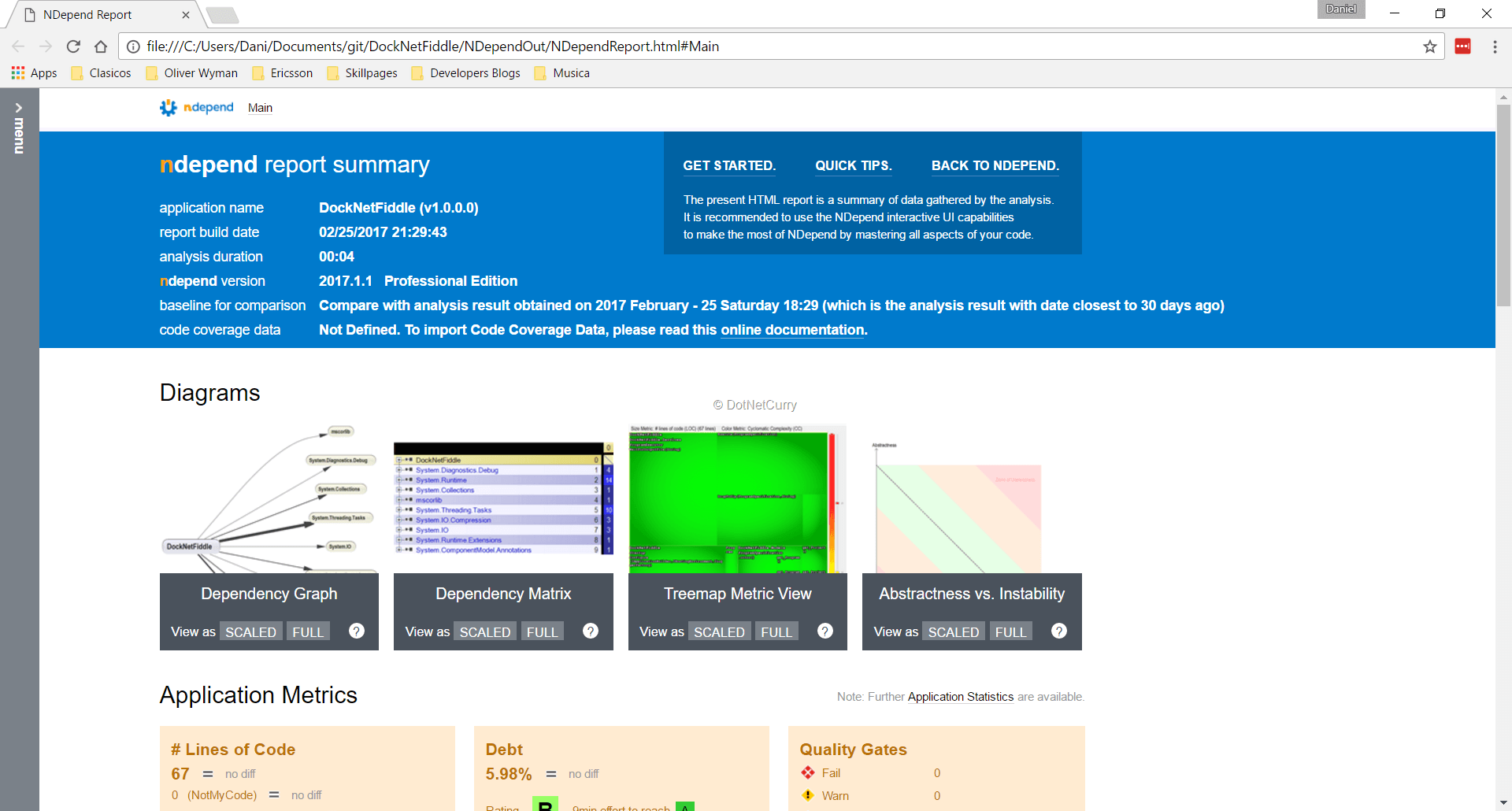 html-report