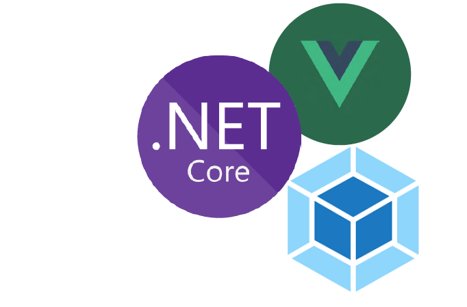 Modern Web Development using ASP NET Core template, Vue js