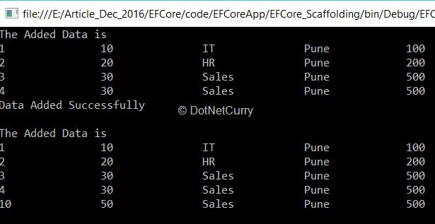 Entity Framework Core Tutorial | DotNetCurry