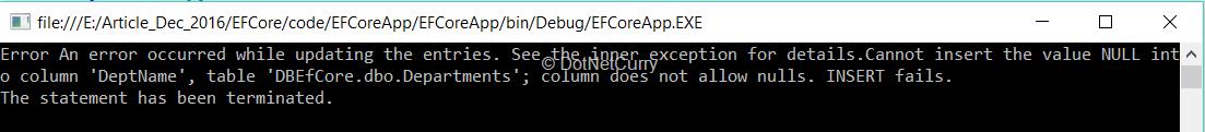 exception-deptname