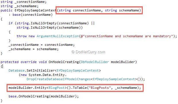 Setting up Entity Framework for Production Use   DotNetCurry