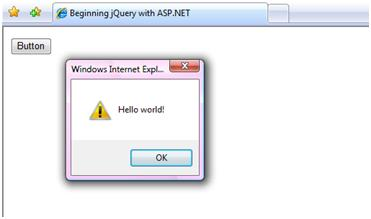 jQuery Hello World