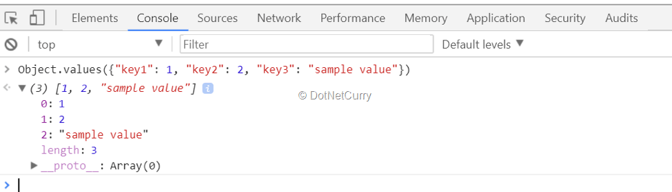 object-values