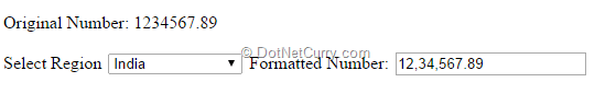 Automatically add Commas to a Number in a TextBox | DotNetCurry