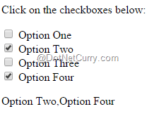 jQuery Checkbox and Radio Button Miscellaneous Tips | DotNetCurry