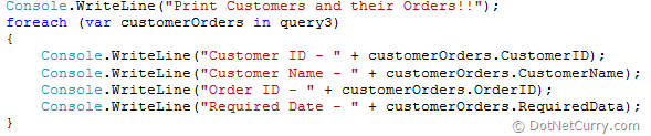 LINQ Query Collection XML