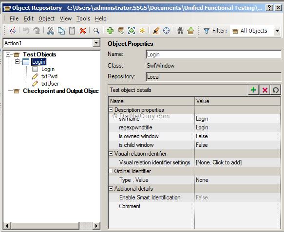 object-repository