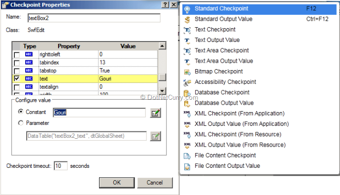 Comparing Coded UI Test using Visual Studio 2013 with