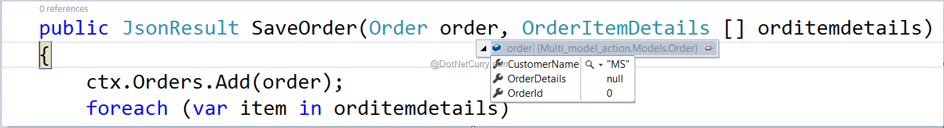 ASP NET MVC: Using Multiple Model Objects as Input Parameters to