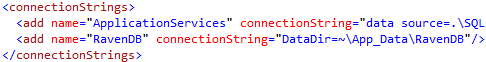 raven-db-embedded-connection-string