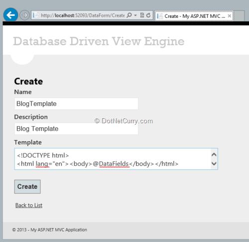 mvc-data-template
