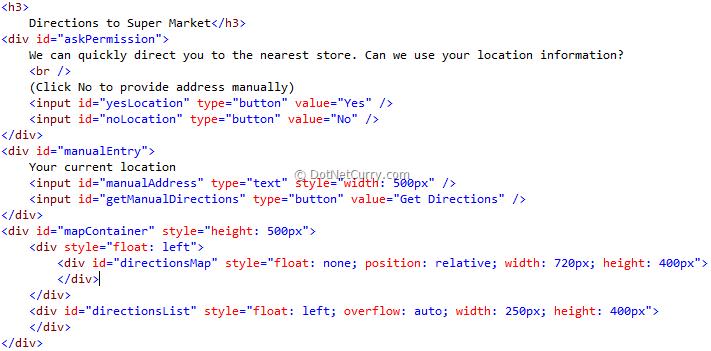 Using HTML 5 Geo Location in an ASP NET MVC Bing Maps Application