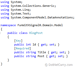 domain-blogpost-model