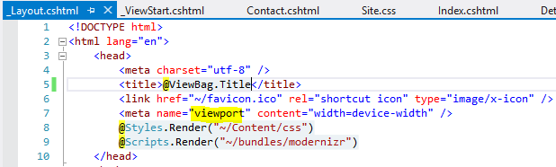 Making your existing ASP NET MVC Web Site Mobile Friendly