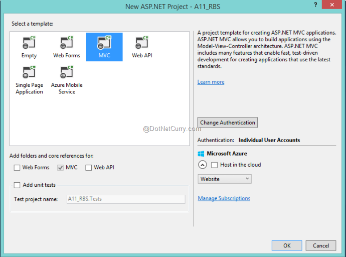 Role Based Security in ASP NET MVC 5 Web Applications