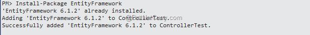 entity-framework-package