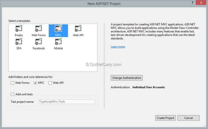 TypeScripted Knockout in ASP NET MVC | DotNetCurry