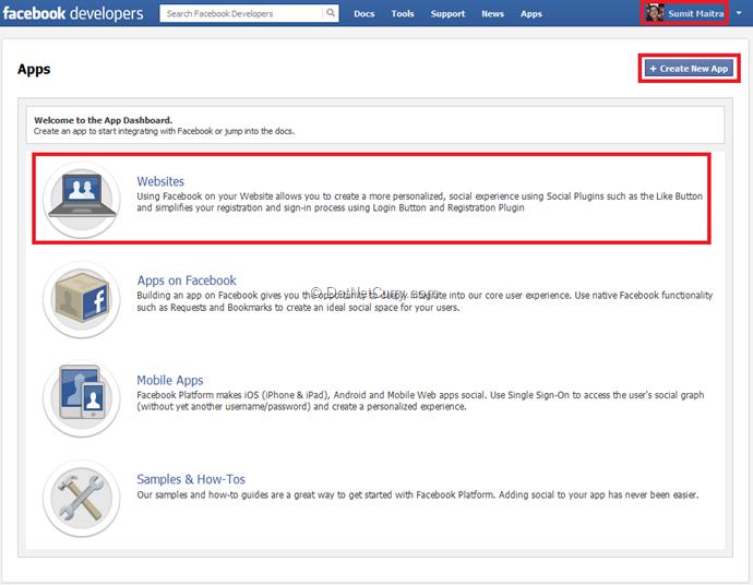facebook-application-types