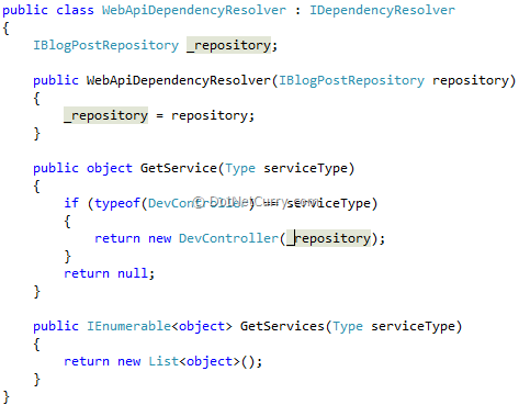 web-api-dependency-resolver
