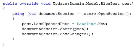 RavenDB Update