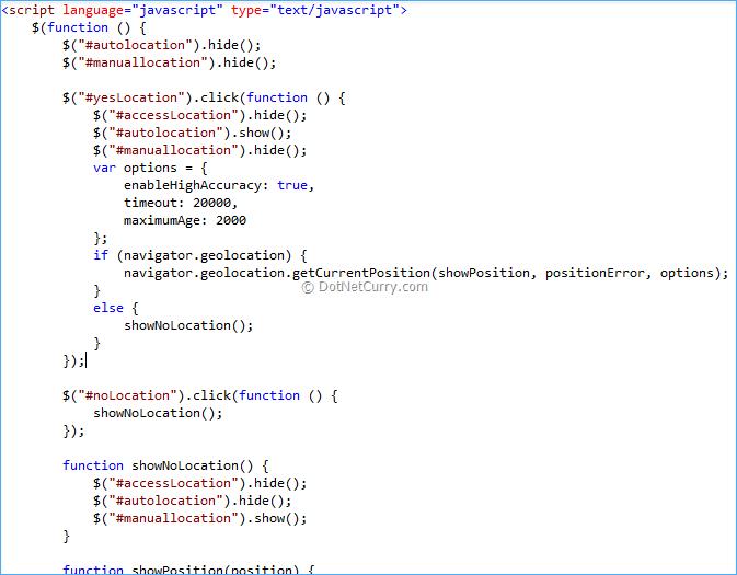 HTML 5 Geo-Location in ASP NET MVC Web Apps (Part 1
