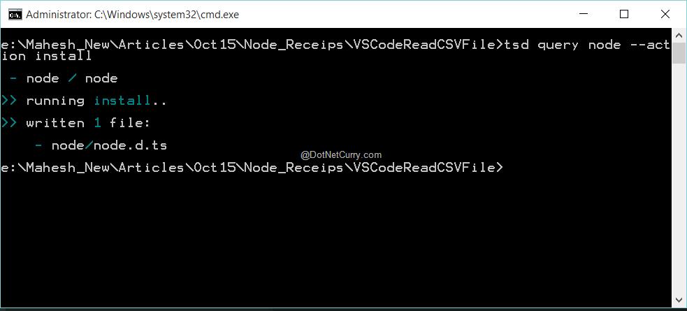 node-install