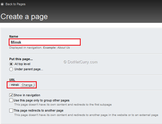create-page-name