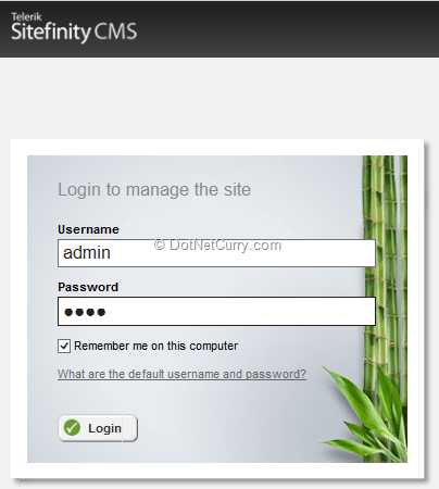 login-first-page