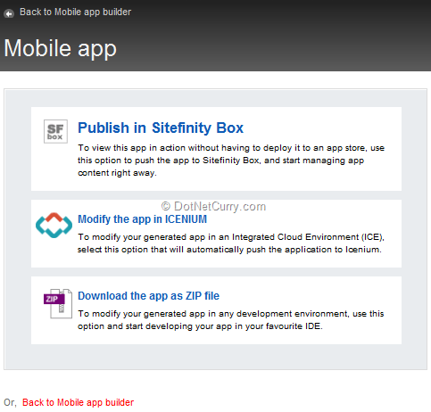 mobile-app-publish-options