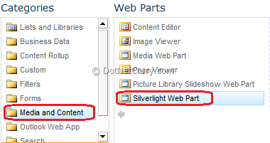 Silverlight Integration with SharePoint 2010 – Part I
