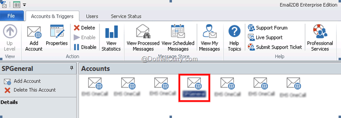 email2db-account