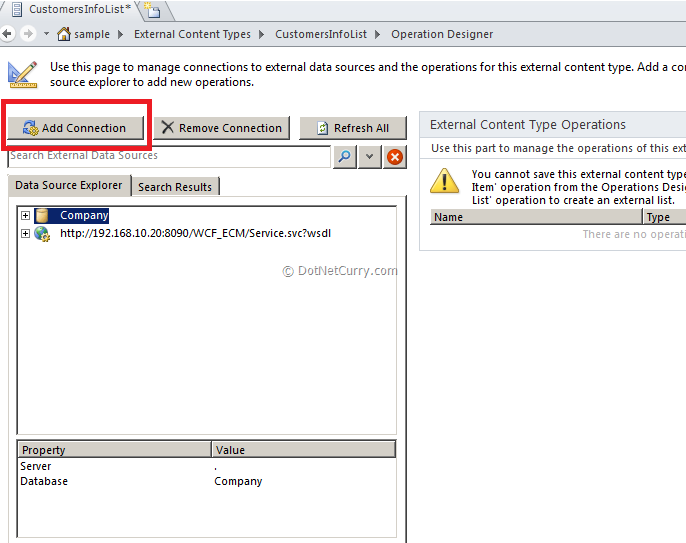SharePoint 2010: Connecting to SQL Server Using the External