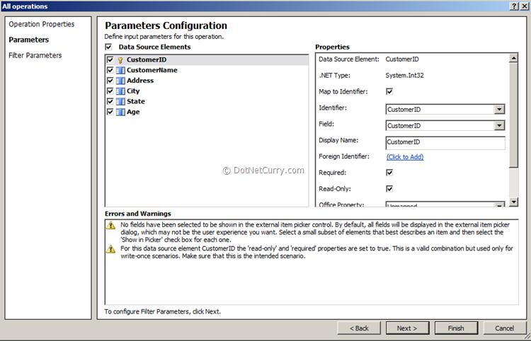 parameters-configuration