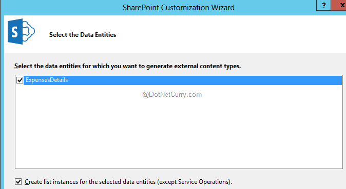 Creating an App Scoped External Content Type (ECT) in SharePoint