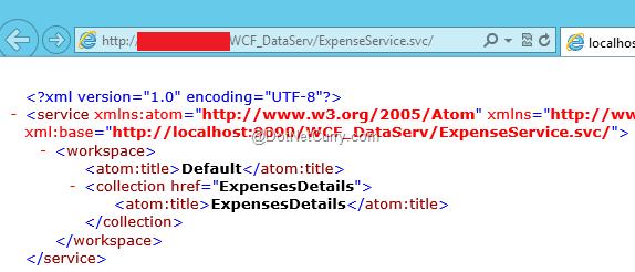 wcf-dataservice
