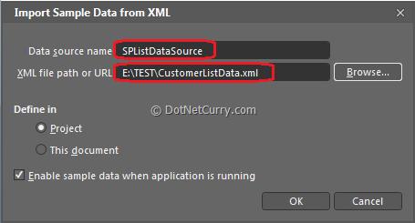 Blend Sample XML Data